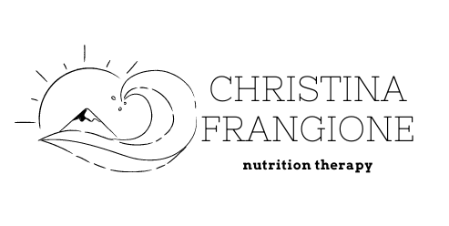 christina frangione nutrition therapy logo 2